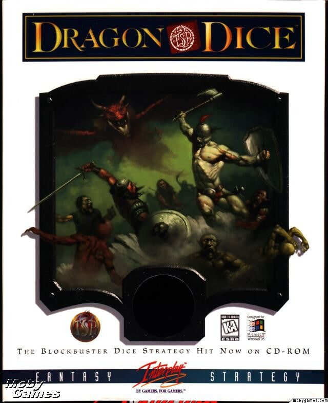 DRAGON DICE PC GAME INTERPLAY +1Clk Windows 10 8 7 Vista XP Install
