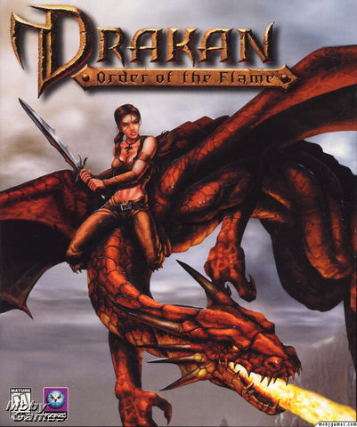 DRAKAN ORDER OF THE FLAME +1Clk Windows 10 8 7 Vista XP Install