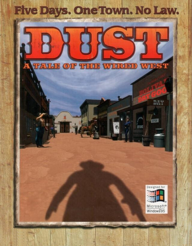 DUST A TALE OF THE WIRED WEST +1Clk Windows 10 8 7 Vista XP Install