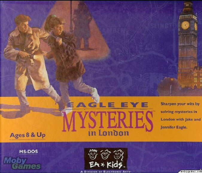 EAGLE EYE MYSTERIES IN LONDON +1Clk Windows 10 8 7 Vista XP Install