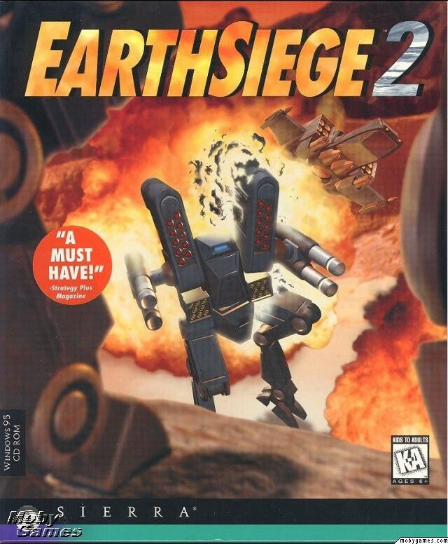 EARTHSIEGE 2 +1Clk Windows 10 8 7 Vista XP Install