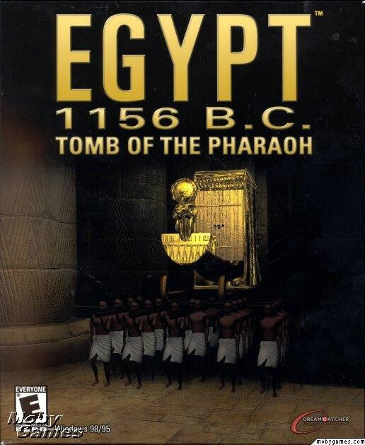 EGYPT 1156 BC TOMB OF THE PHARAOH +1Clk Windows 10 8 7 Vista XP Install