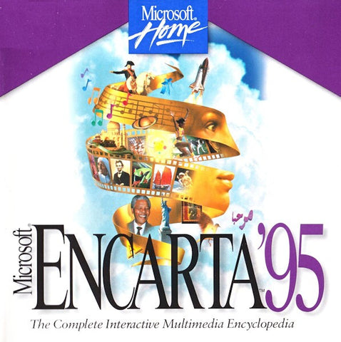 MICROSOFT ENCARTA '95 W/MIND MAZE +1Clk Windows 10 8 7 Vista XP Install