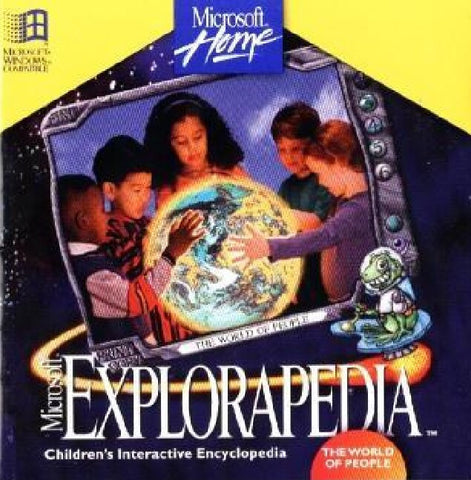 MICROSOFT EXPLORAPEDIA WORLD OF PEOPLE +1Clk Windows 10 8 7 Vista XP Install
