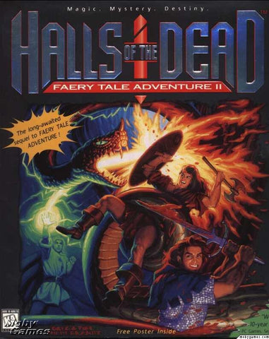 FAERY TALE ADVENTURE 2 HALLS OF THE DEAD +1Clk Windows 10 8 7 Vista XP Install