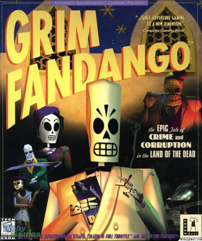 GRIM FANDANGO ORIGINAL 1998 EDITION +1Clk Windows 10 8 7 Vista XP Install