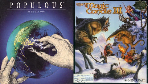 POPULOUS, MAGIC CANDLE, THE SUMMONING +1Clk Windows 10 8 7 Vista XP Install