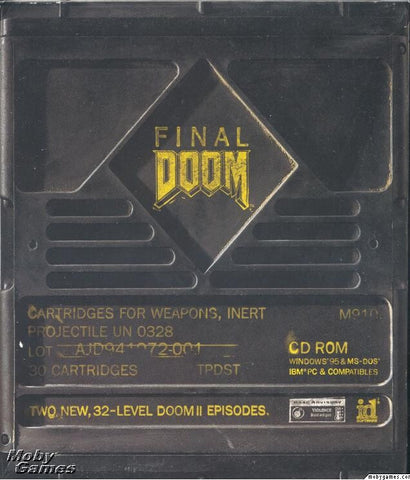 FINAL DOOM +1Clk Windows 10 8 7 Vista XP Install