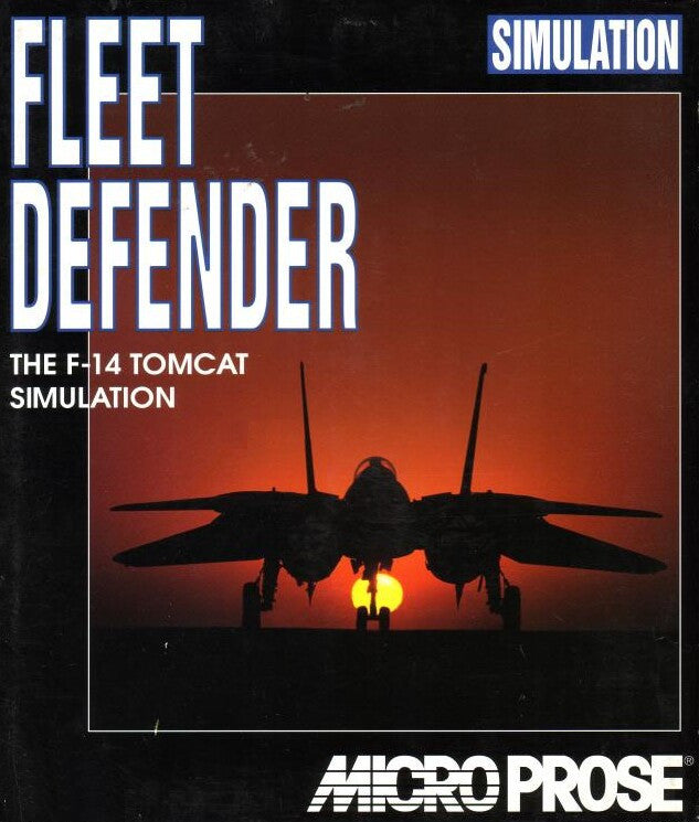 F-14 FLEET DEFENDER +1Clk Windows 10 8 7 Vista XP Install