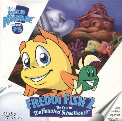 FREDDI FISH 2 THE CASE OF THE HAUNTED SCHOOLHOUSE +1Clk Windows 10 8 7 Vista XP Install