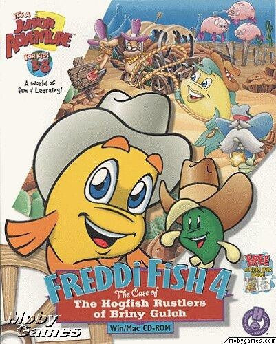 FREDDI FISH 4 HOGFISH RUSTLERS OF BRINY GULCH +1Clk Windows 10 8 7 Vista XP Install