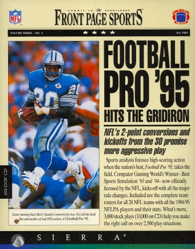 FRONT PAGE SPORTS FOOTBALL '95 +1Clk Windows 10 8 7 Vista XP Install