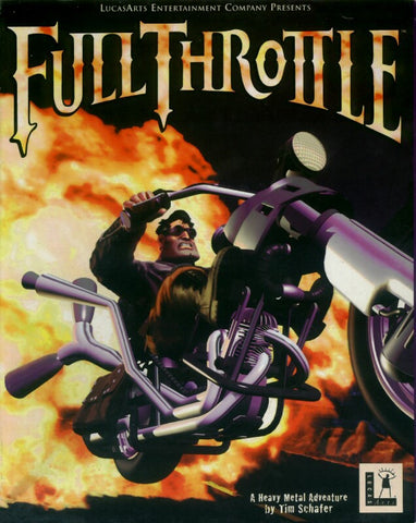FULL THROTTLE LUCASARTS +1Clk Macintosh OSX Install