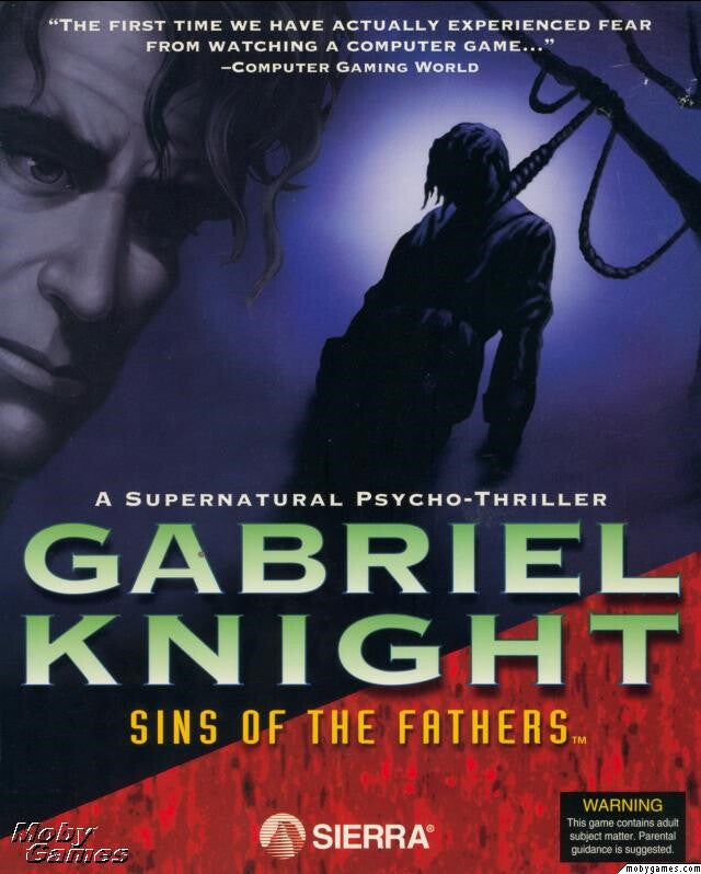 GABRIEL KNIGHT 1 SINS OF THE FATHERS +1Clk Windows 10 8 7 Vista XP Install
