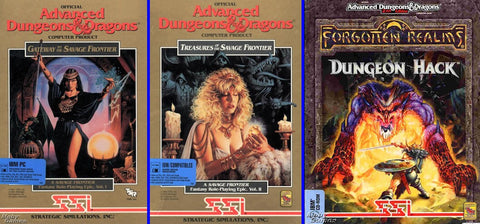 AD&D GATEWAY TREASURES SAVAGE FRONTIER +1Clk Windows 10 8 7 Vista XP Install