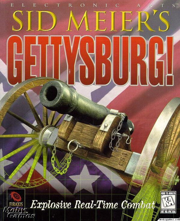 SID MEIER'S GETTYSBURG! +1Clk Windows 10 8 7 Vista XP Install