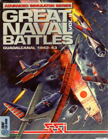 GREAT NAVAL BATTLES 2 GUADALCANAL +1Clk Windows 10 8 7 Vista XP Install
