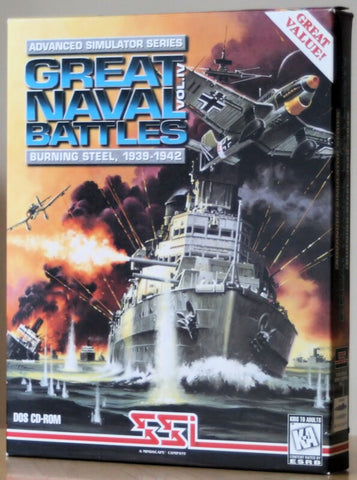 GREAT NAVAL BATTLES 4 BURNING STEEL +1Clk Windows 10 8 7 Vista XP Install