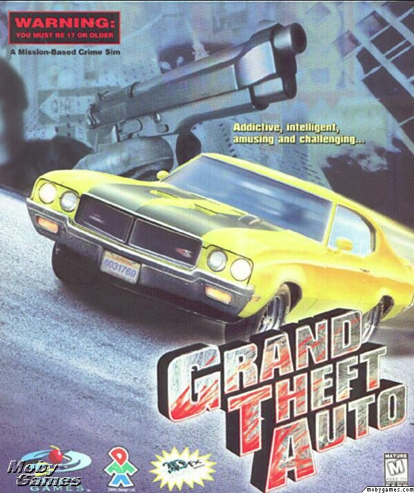 GRAND THEFT AUTO 1 + 1961 & 1969 MISSION PACKS +1Clk Windows 10 8 7 Vista XP Install