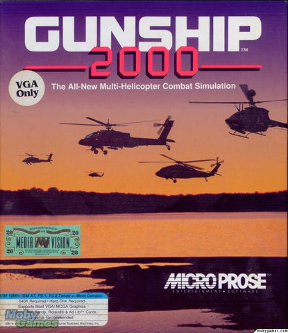 GUNSHIP 2000 + ISLANDS & ICE EXPANSION +1Clk Windows 10 8 7 Vista XP Install