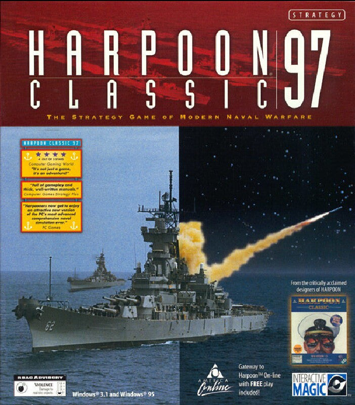 HARPOON CLASSIC '97 +1Clk Windows 10 8 7 Vista XP Install