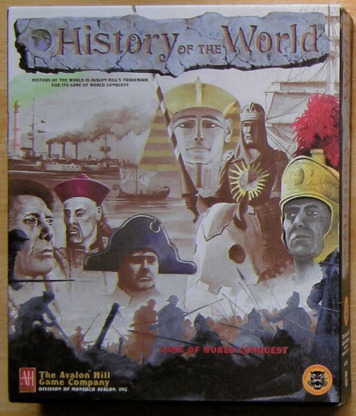 HISTORY OF THE WORLD PC AVALON HILL +1Clk Windows 10 8 7 Vista XP Install