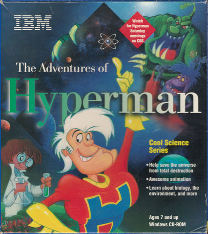 THE ADVENTURES OF HYPERMAN PC GAME +1Clk Windows 10 8 7 Vista XP Install