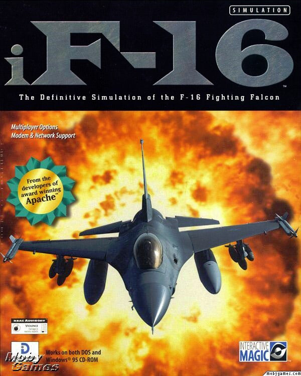 IF-16 FIGHTING FALCON +1Clk Windows 10 8 7 Vista XP Install