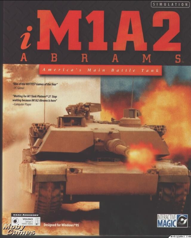 IM1A2 ABRAMS AMERICA'S MAIN BATTLE TANK +1Clk Windows 10 8 7 Vista XP Install