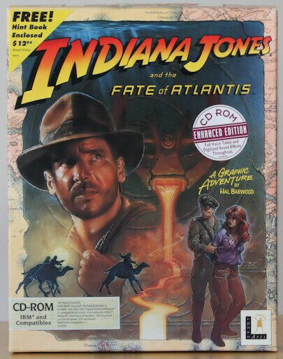INDIANA JONES AND THE FATE OF ATLANTIS +1Clk Windows 10 8 7 Vista XP Install