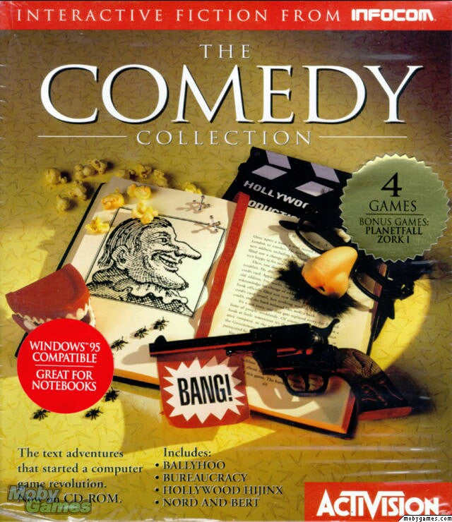 INFOCOM COMEDY COLLECTION +1Clk Windows 10 8 7 Vista XP Install