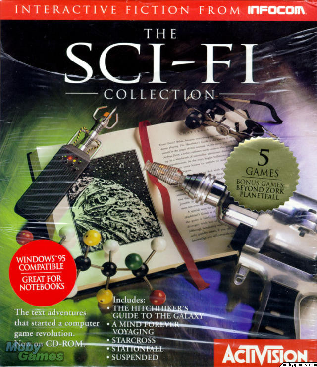 INFOCOM SCI-FI COLLECTION +1Clk Windows 10 8 7 Vista XP Install