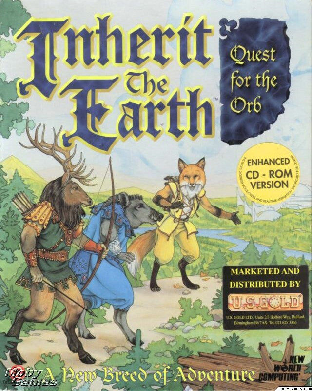 INHERIT THE EARTH QUEST FOR THE ORB +1Clk Windows 10 8 7 Vista XP Install