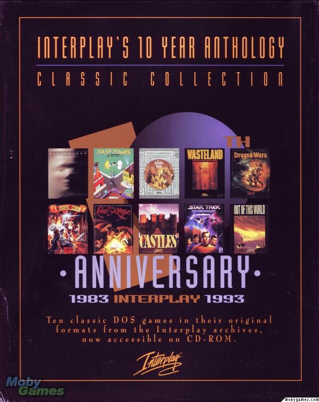 INTERPLAY 10 YEAR ANTHOLOGY +1Clk Windows 10 8 7 Vista XP Install