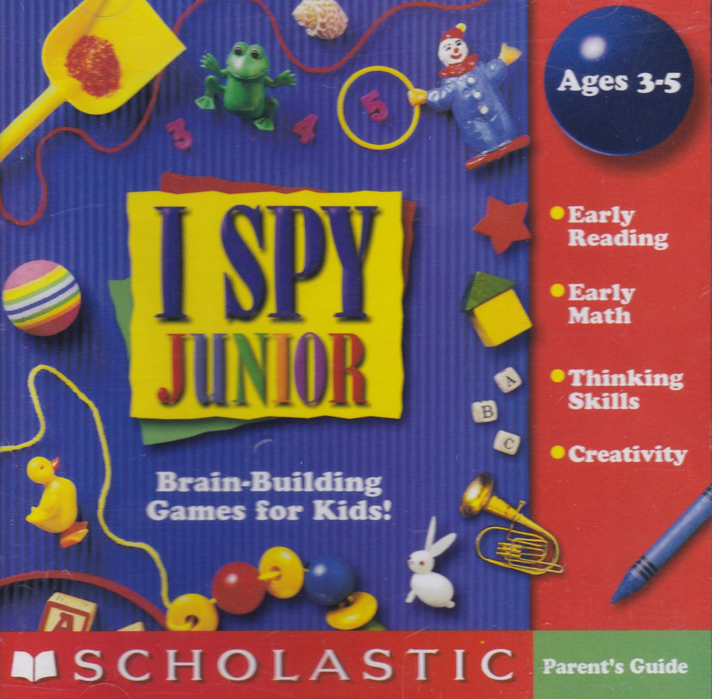 I SPY JR JUNIOR 1999 PC GAME +1Clk Windows 10 8 7 Vista XP Install