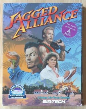 JAGGED ALLIANCE +1Clk Windows 10 8 7 Vista XP Install