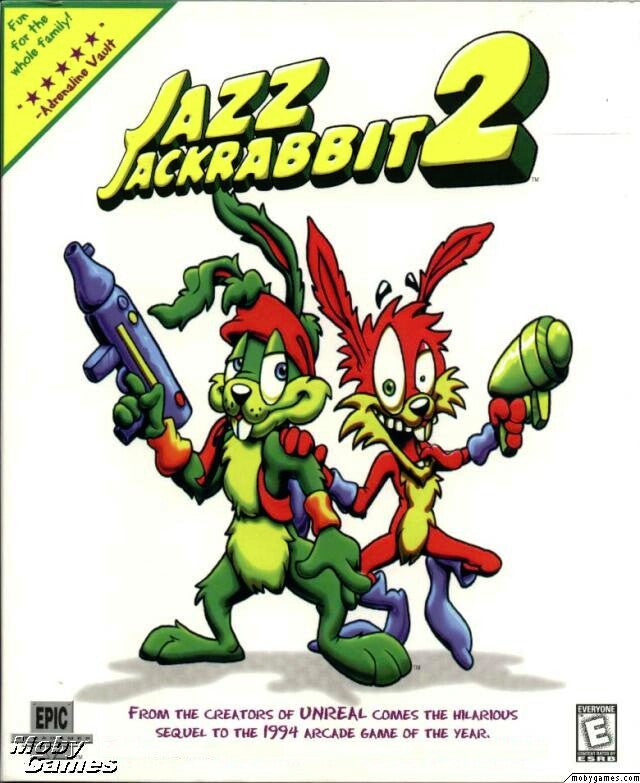 JAZZ JACKRABBIT 2 +1Clk Windows 10 8 7 Vista XP Install