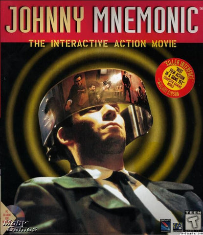 JOHNNY MNEMONIC PC GAME +1Clk Windows 10 8 7 Vista XP Install
