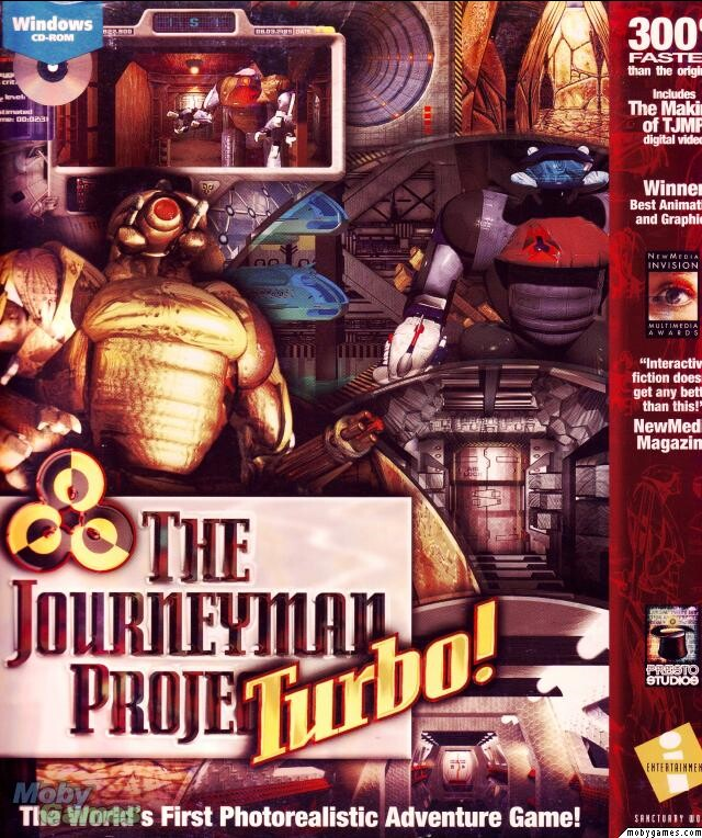 THE JOURNEYMAN PROJECT TURBO +1Clk Windows 10 8 7 Vista XP Install