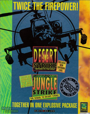 DESERT STRIKE & JUNGLE STRIKE +1Clk Windows 10 8 7 Vista XP Install