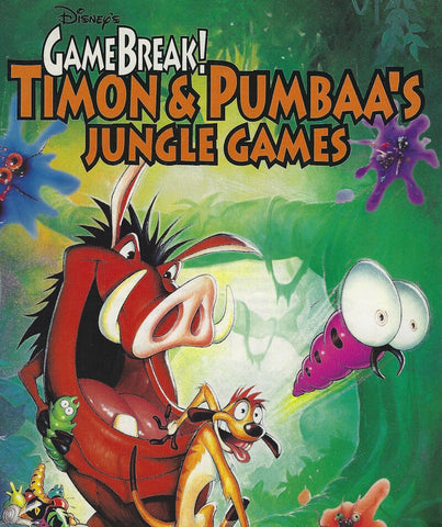 GAMEBREAK TIMON & PUMBAA'S JUNGLE GAMES PC +1Clk Windows 10 8 7 Vista XP Install