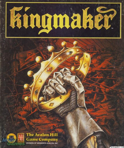 KINGMAKER PC GAME AVALON HILL +1Clk Windows 10 8 7 Vista XP Install