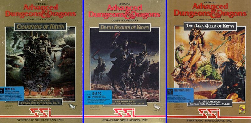 AD&D KRYNN DEATH KNIGHTS / CHAMPIONS / DARK QUEEN +1 Clk Macintosh OSX Install