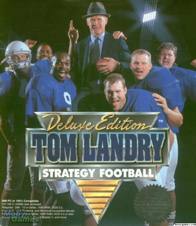 TOM LANDRY'S STRATEGY FOOTBALL +1Clk Windows 10 8 7 Vista XP Install
