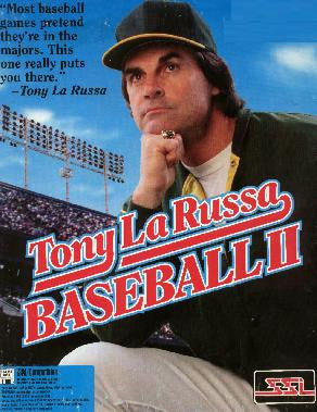 TONY LARUSSA BASEBALL 2 II +1Clk Windows 10 8 7 Vista XP Install
