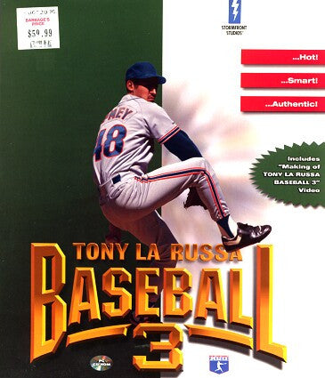 TONY LARUSSA BASEBALL 3 III +1Clk Windows 10 8 7 Vista XP Install