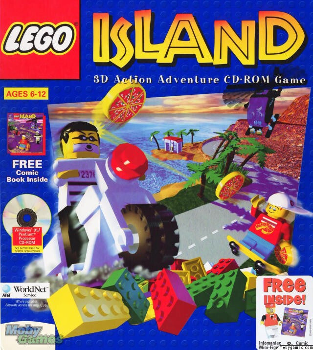 LEGO ISLAND 1 +1Clk Windows 10 8 7 Vista XP Install