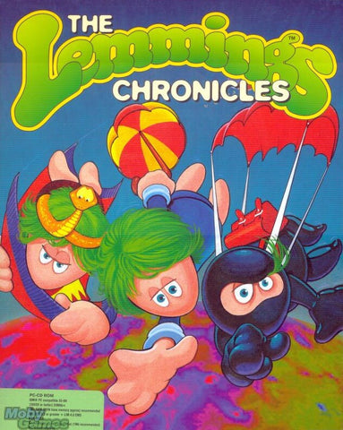 LEMMINGS 3: CHRONICLES +1Clk Windows 10 8 7 Vista XP Install
