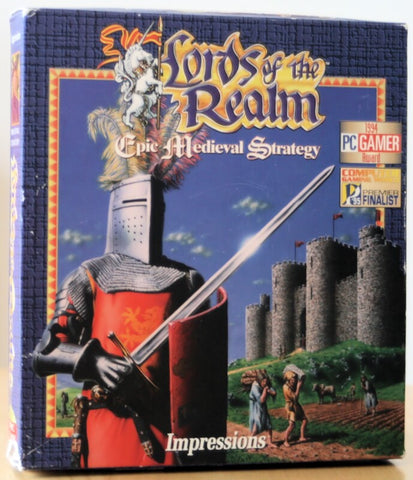 LORDS OF THE REALM I +1Clk Windows 10 8 7 Vista XP Install