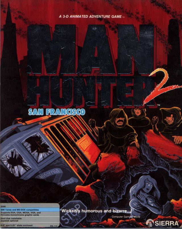 MANHUNTER 2 SAN FRANCISCO +1Clk Windows 10 8 7 Vista XP Install